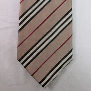 Burberry Men's Striped Silk Tie